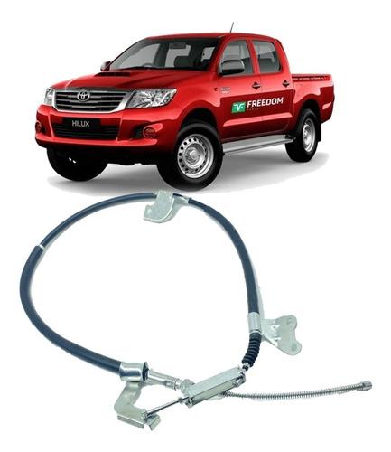 Imagem 1 de 4 de Cabo De Freio De Mão Toyota Hilux 2006 Até 2015 Direito