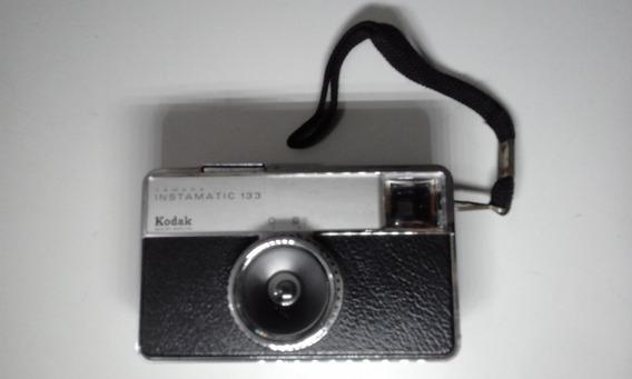 Câmera Fotográfica Kodak Instamatic 133 Antiga Ótimo Estado