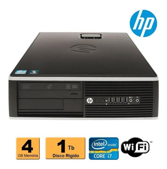 Cpu Hp Elite 8300 1155 I7 3ª Geração 4gb Hd 1tb Rw Wifi