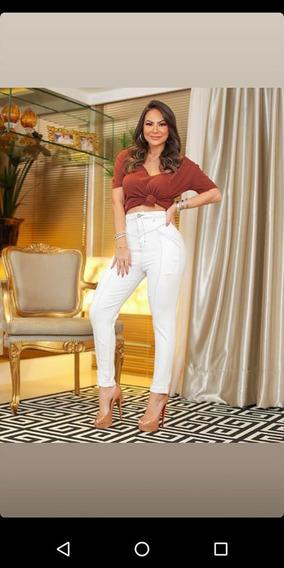 Calças Jeans Com Stretch, Vestem Super Bem, Várias Marcas!