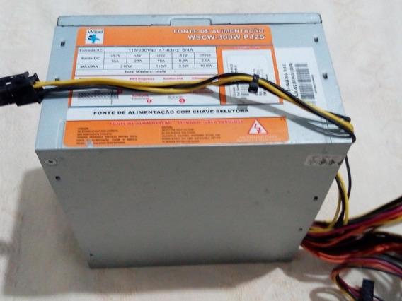 Fonte 380w C Saida Conector 4 Pinos 11v