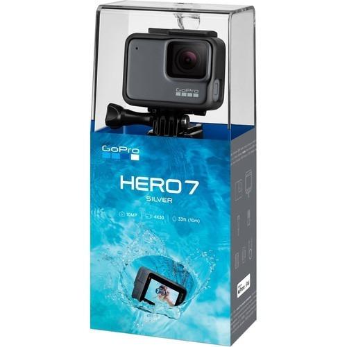 Câmera Filmadora Gopro Hero 7 Silver Chdhc-601 4k Lacrada