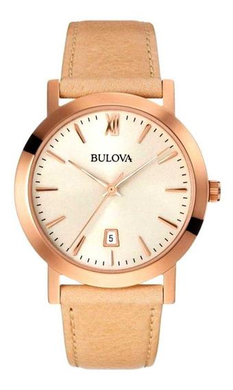 Relógio Bulova Feminino Esporte Fino Wb27869z
