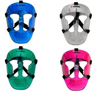 Mascara Hockey Para Corner Corto Profesional Proteccion Cara
