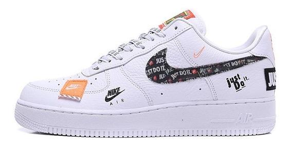 Tênis Nike Air Force 1 07 Premium Just Do It -diversas Cores