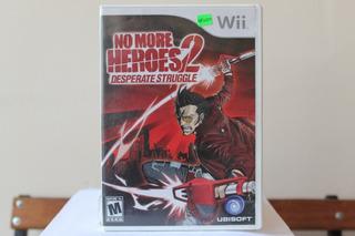 No More Héroes 2 Wii