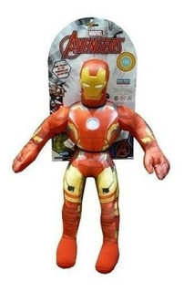 Muñeco Iron Man Con Sonido Soft Los Vengadores New Toys