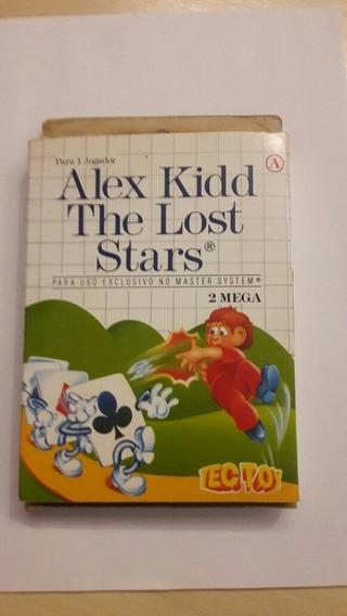 Alex Kidd The Lost Stars Master System Na Caixa