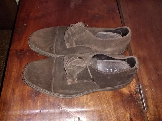 Zapatos De Gamuza Talle 40