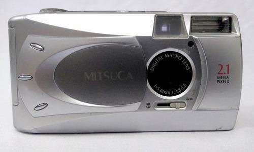 Maquina Fotográfica Digital Mitsuca Raridade Bem Conservada