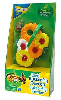 Kit De Alimentador De Mariposas - Juguete De Jardin Incluye