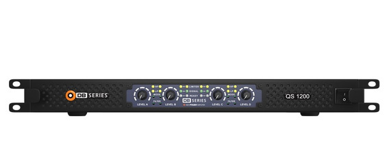 Amplificador Potencia Db Series Qs 1200 4 Canais 1200w 4ohms