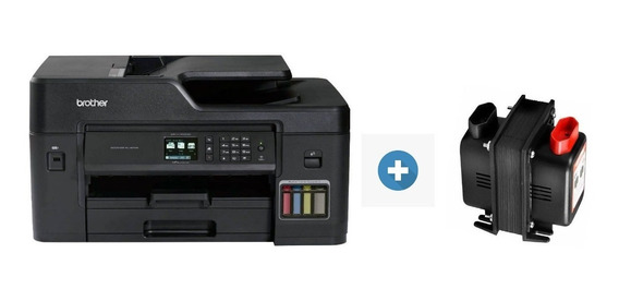Impressora Brother Mfc-t4500dw A3 Ecotank + Transformador