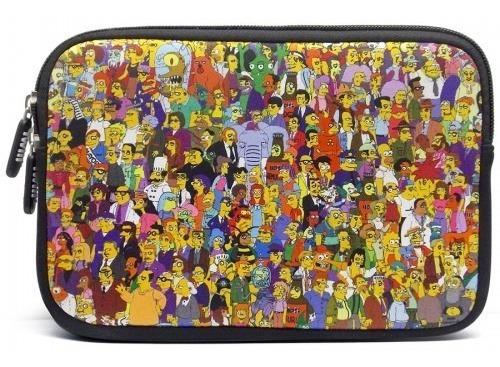 Case Macbook Air Pro 13.3 Pol. The Simpsons Springsfield