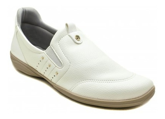 Tênis Slip On Feminino Piccadilly 955028 Branco Confortável