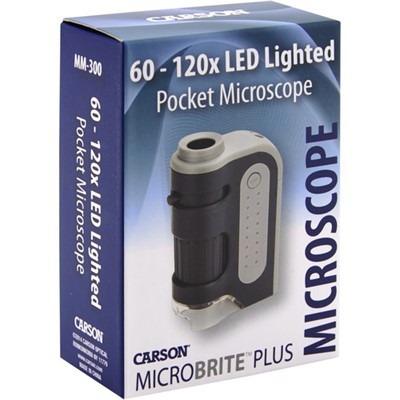 Microscopio De Bolso Mm-300 Carson