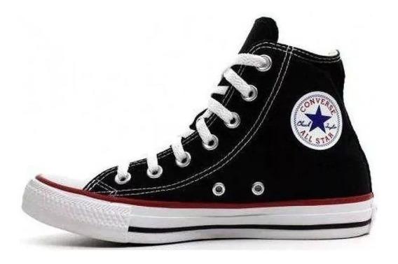 Tênis Converse All Star Chuck Taylor Cano Alto Preto