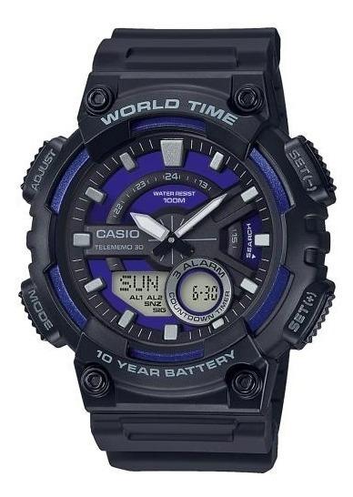 Reloj Casio Aeq-110w-2a2v Caballero Original E-watch