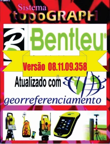 Topograph Bentley V8i Versão 08.11.09.358 / Completo + Curso