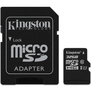 Cartão De Memória Microsd 32gb Kingston Classe 10