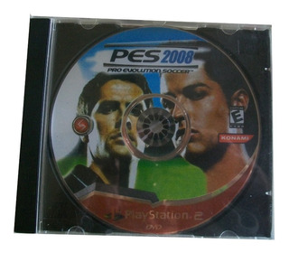Cd| Plastation 2|pes 2008|pro Evolution Soccer| Raríssimo