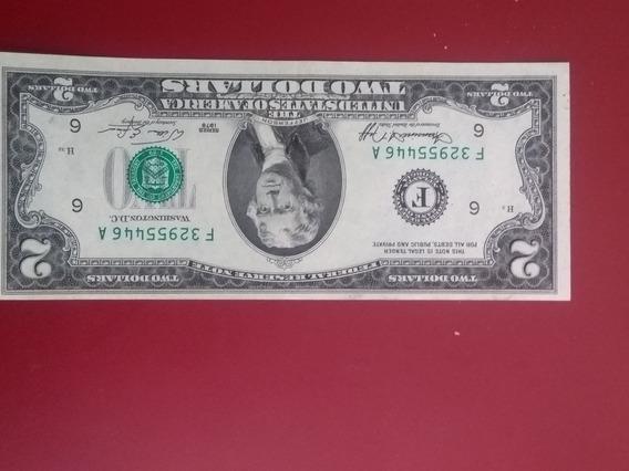 Billete De 2 Dólares Con Error Año 1976