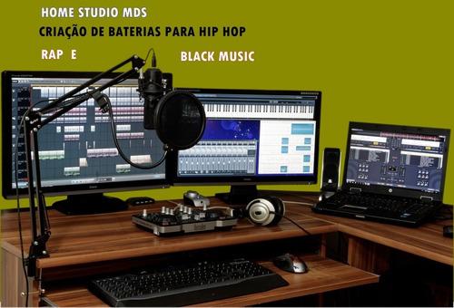Imagem 1 de 1 de Criação De Baterias De Hip Hop Rap E Black  Music