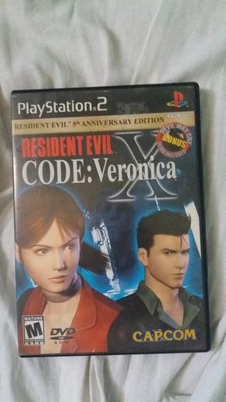 Resident Evil Code: Verônica X Ps2 Original