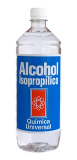 Alcohol Isopropilico 1 L Pureza 99,7%