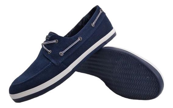 Zapato Hush Puppies Split Azul Urbano Hombre 180027 Empo2000