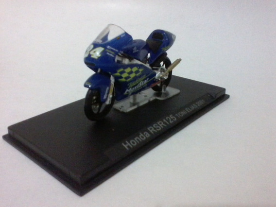 Miniatura Motogp Honda Rsr 125 Toni Elias 2001 1:24