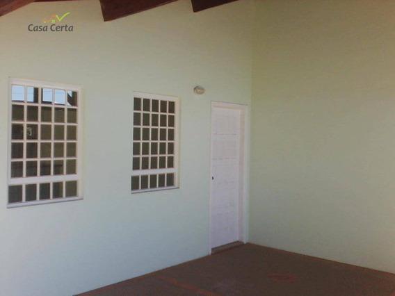 Casa Com 3 Dormitórios Para Alugar, 130 M² Por R$ 1.200,00/mês - Vila Pataro - Mogi Guaçu/sp - Ca0327