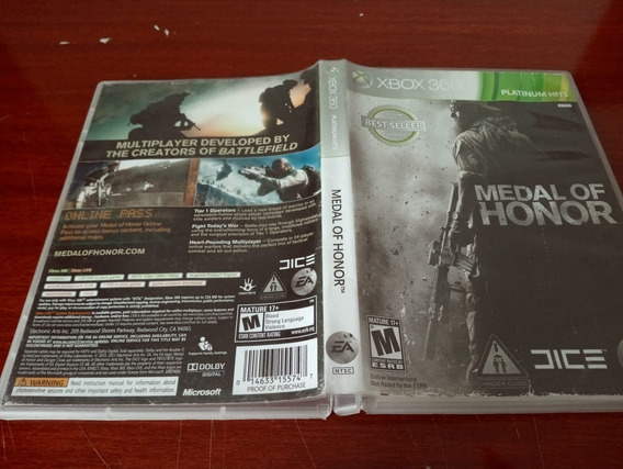 Games Jogos Medal Of Honor Original Xbox360 19#f