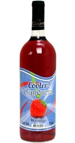 Cooler De Morango 720ml - Canguera