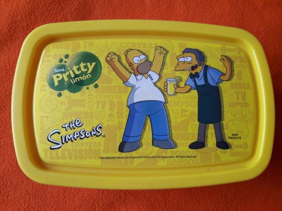 Lunchera Para El Colegio De Los Simpsons