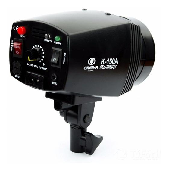 Flash Tocha Estúdio Godox Greika K-150a 220v