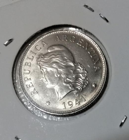 Moneda 1941 Argentina 50 Centavos