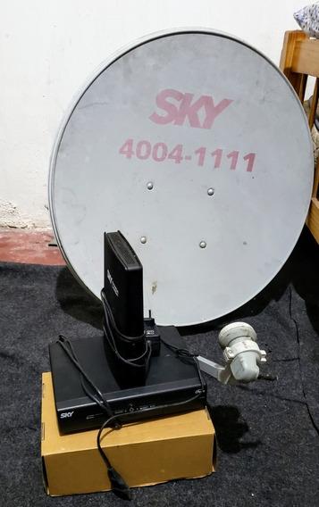 Aparelho Sky,com A Antena