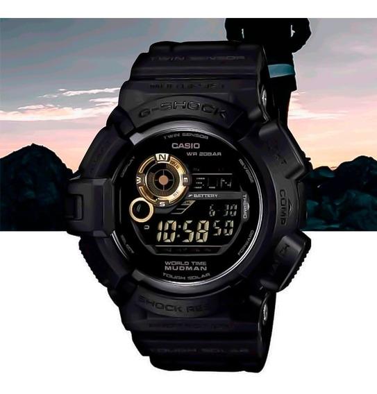 Relógio Casio G-shock Mudman G-9300gb-1dr Preto