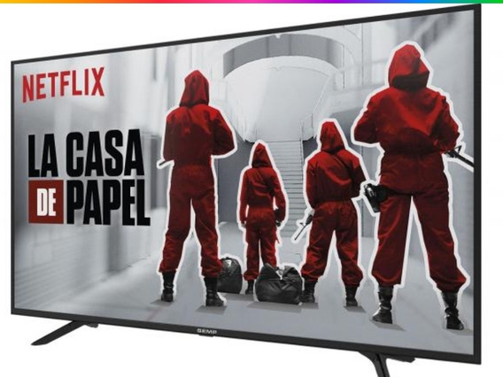 Smart Tv 4k Led 49 *super Promoçao*
