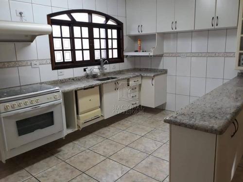 Imagem 1 de 30 de Sobrado Com 3 Dormitórios À Venda, 174 M² Por R$ 650.000,00 - Utinga - Santo André/sp - So3979