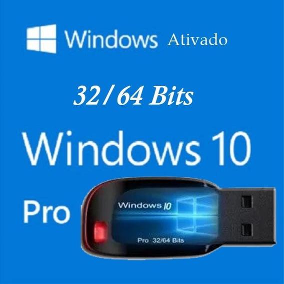 Pen Drive Bootavel Windows 10 Pro + Ativação
