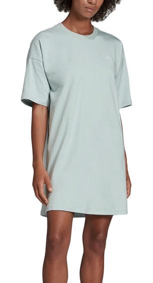 Vestido adidas Originals Moda Trefoil Dress Mujer Va