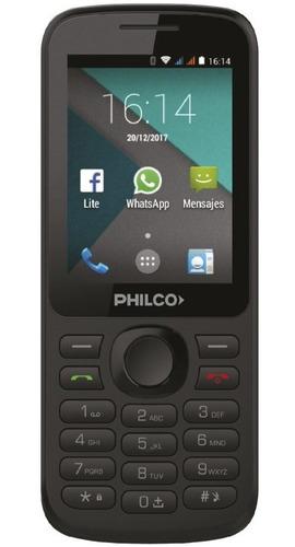 Celular Libre P2413dbou Negro 2,4  512mb Philco
