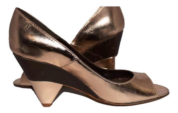 Sarkany Zapatos Boca De Pez Cobre Saltados