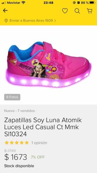 Zapatillas Soy Luna Con Luces