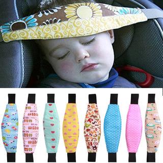 Faixa Apoio Suporte Cabeça Bebê Cadeirinha Carro Soneca Sono