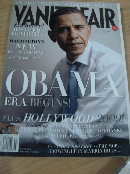 Obama Vanity Fair Heath Ledger Meryl Streep Tom Hanks