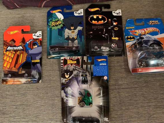 Colección Carros Hotwheels Edición Especial Batman
