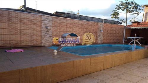 Casa Com Piscina Em Mongaguá Só R$ 230 Mil - V6576